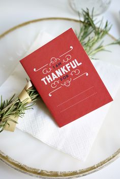 Printable Thankful Booklet