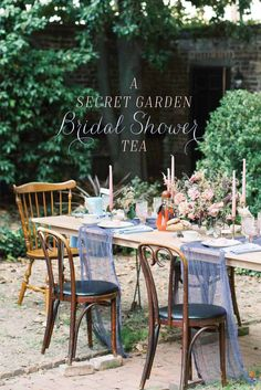 Garden Bridal Showers, Latest Issue, Outdoor Furniture Sets, Outdoor Decor, Festival Party, Shake, Tea Time, Tea Party, 1960s
