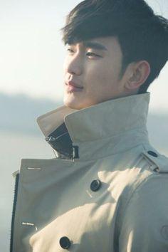 Kim Soohyun you have beautiful alien looks
