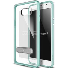 Obliq Galaxy Note 5 Case Naked Shield Series - Turquoise Mint