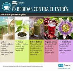 Y finalmente, estas bebidas son la perfecta adición a las técnicas de relajamiento que mencionamos anteriormente. | 23 Infografías que te ayudarán a vivir una vida más sana
