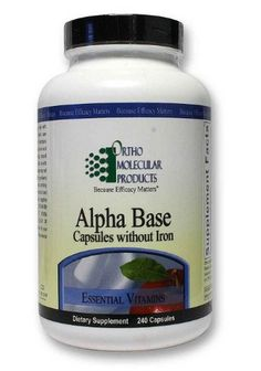 Alpha Base without Iron  #PPPharmacy #health