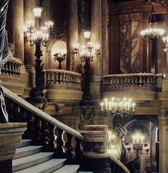 Can't even describe the beauty in the Palais Garnier!