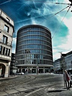 Poznan Poland, Okrąglak - widok od ul.Fredry [fot.Jędrzej Franek]