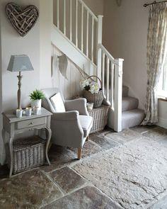 Photo déco entrée avec escalier | Decoration | Decor