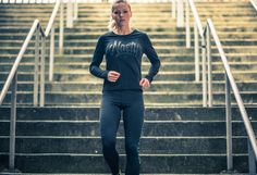 Long Sleeve Gaffiti Top by Nasty Lifestyle. Get yours today! Crossfit Clothes, Fitness Apparel, Leather Pants, Women Wear, Spring Summer, Sporty, Yoga, Gym, Running