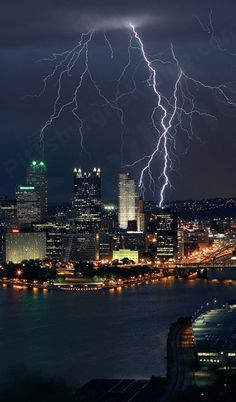 Lightning in the Burgh