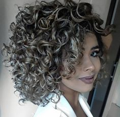 This perm type carries the same purpose as the body wave perm before. While the body wave perm is more… Curly Hair Cuts, Short Curly Hair, Wavy Hair, Curly Hair Styles, Natural Hair Styles, Perms For Short Hair, Perm Hair, Curly Girl, Fine Hair
