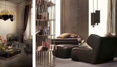 Idées Déco pour un Salon moderne, le monde du design, nouveaux produits, nouvelles tendances, les marques de design les plus luxueux, nouvel...