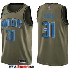 b92c379cd4a Men s Nike Orlando Magic  31 Terrence Ross Green Salute to Service NBA  Swingman Jersey Anthony
