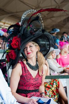 4a312616 Kentucky_Derby_Hats_2018_134 Derby Time, Derby Day, Derby Outfits, Outfits  With Hats, Royal Ascot