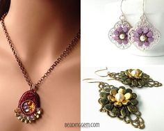 Best Beads' $50 Gift Certificate Giveaway of Czech Beads