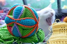 Free Crochet Pattern * Amish Puzzle * Baby Toy