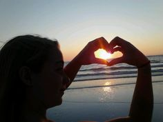 Sunset at the beach <3