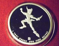 Disney silver coin