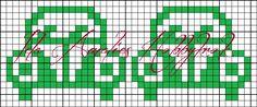 Bilderesultat for strikke mønster tegninger