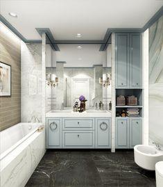 Благородная классика - Ванная комната 3D – Комфорт & Стиль   PINWIN - конкурсы для архитекторов, дизайнеров, декораторов