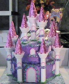 castle cake, Cakes For Girls