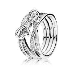 anillo mariposa pandora