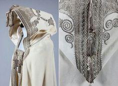 1899 Evening Cloak with Embroidery (Opera Cloak) - Google Search