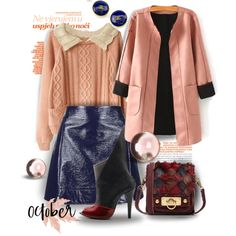 FG983 by axenta on Polyvore featuring мода, Topshop, Jacob Birge Vision, Anna Sui, Chanel, autumn2015 and axenta