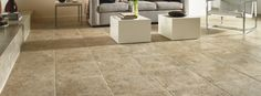 Alterna Luxury Vinyl Tile Vinyl Tile Floors from Armstrong - warmer than ceramic and can be grouted