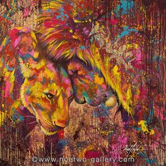 LIONS by NOE TWO