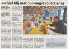 Naar aanleiding van de Collectiedag bij Archief Eemland verscheen woensdag 29 oktober een artikel in de Leusderkrant en Amersfoort Nu. De opbrengst van de collectiedag is online te raadplegen op Het bewaren waard.