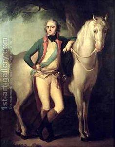 Prince Josef Anton Poniatowski 1763-1813 by his horse by Giuseppe or Josef Grassi