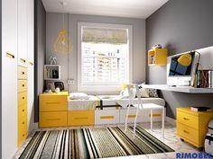 Cozy Small Bedrooms, Small Room Bedroom, Home Bedroom, Bedroom Decor, Small Room Interior, Small Space Interior Design, Interior Design Living Room, Boys Room Design, Kids Bedroom Designs