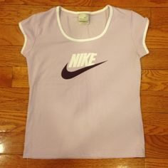 Nike top Light purple Nike top. Perfect condition! Nike Tops Tees - Short Sleeve