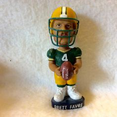 A personal favorite from my Etsy shop https://www.etsy.com/listing/454728124/vintage-1980s-numbered-brett-favre