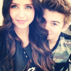Ryan Newman and Jack Griffo. <3