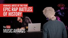 I voted for Epic Rap Battles of History to win Artist of the Year at the You Tube Music Awards :)   again...
