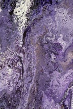 Purple And Grey Abstract Art