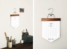 DIY Calendar @Matt Valk Chuah Merrythought #DIY #crafts