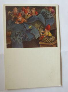 """""""Märchen, Zwerge, Die Heinzelmännchen"""" 1910, Hans Lang"""