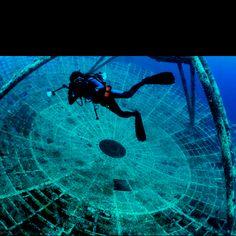 USS Vandenburg wreck dive, Key West, FL