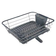 Casabella Polypropylene Dish Drying Rack Racks Dishes Plate Tablewares Utensils