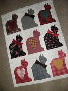 Cat Quilt! I will pay someone to make this for me!