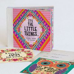 "Happy Notes ""It's The Little Things"" - Our Happy Notes feature…"