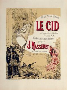 Vintage Victorian opera poster. vepca.com