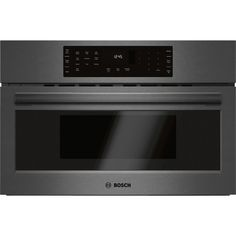 in Black by Bosch in Concord, NH - 800 Series Speed Oven Black Stainless Steel Microwave Oven, Built In Microwave, Four A Convection, Single Wall Oven, Electric Wall Oven, Oven Canning