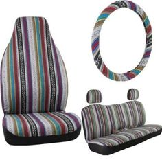 Bell Automotive Baja Blanket Complete Seat and Steering Wheel Cover Kit