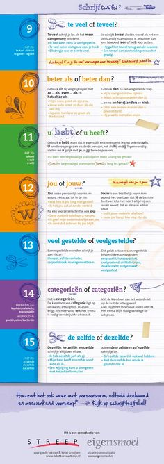 Education and so on .: Infographics: The 15 most common language . - Back to School School Info, Back To School, Coaching, Learn Dutch, Dutch Language, School Hacks, School Posters, Speech Language Therapy, Kids Education
