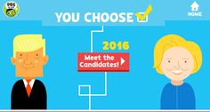 Free Technology for Teachers: You Choose 2016 Teaches Kids About the Presidential Election Process