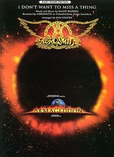 I Dont Want to Miss a Thing - Aerosmith free piano sheet music and downloadable PDF.
