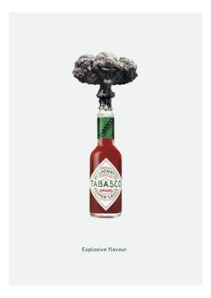 Explosive Flavour - Tabasco campaign by Kieran Child @ BA Creative Advertising…