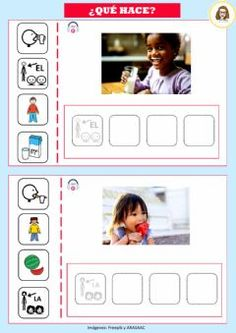 Touch Math, Sequencing Pictures, Powerpoint Games, Art Drawings For Kids, Speech And Language, Speech Therapy, Psychology, Polaroid Film, Teaching