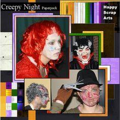en hier mijn lo met Greepy Night papers
